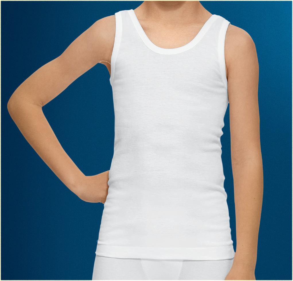 672104be76e9f Camiseta interior niños tirantes - Uniformes Escolares Unikids